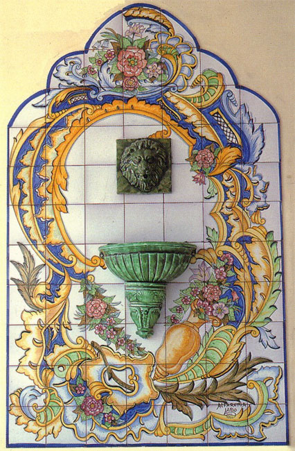 Sintra Antique Handpainted Portuguese Tiles